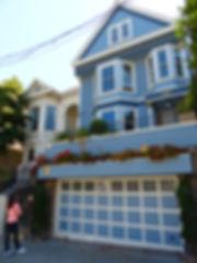 San Francisco - Maison bleue - maxime forestier