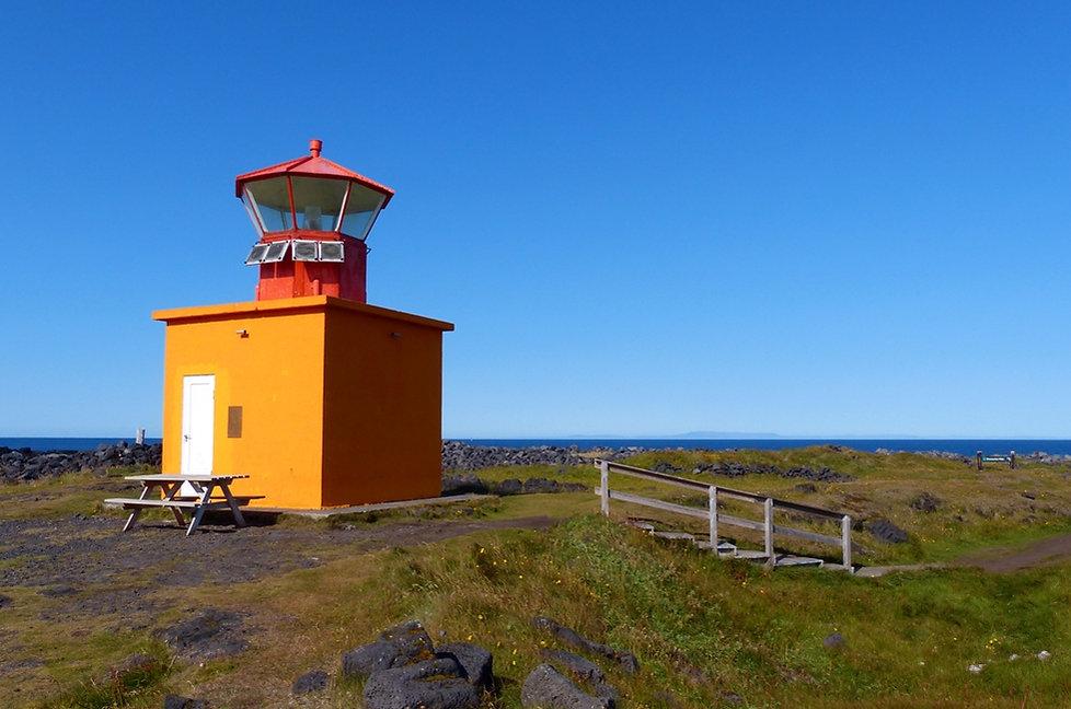 Islande péninsule Snæfellsnes phare pointe Öndverdanes