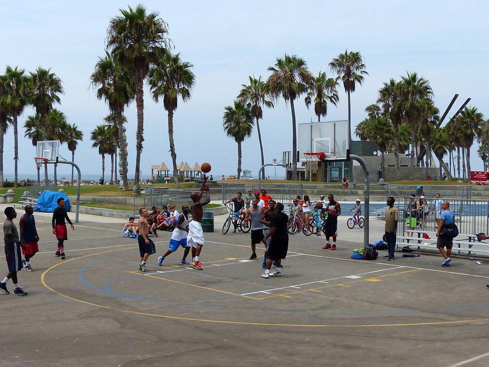 Los Angeles Venice beach terrain basket