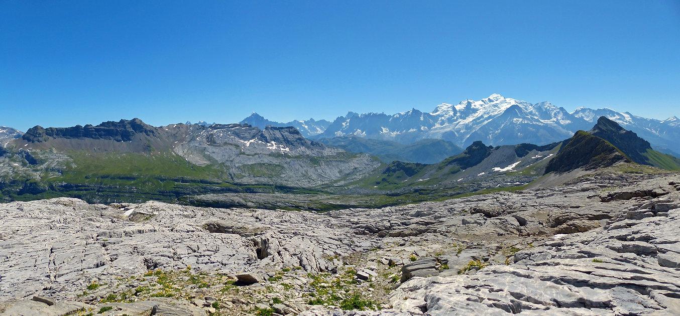 Désert de Platé - Flaine - Randonnée - Mont Blanc