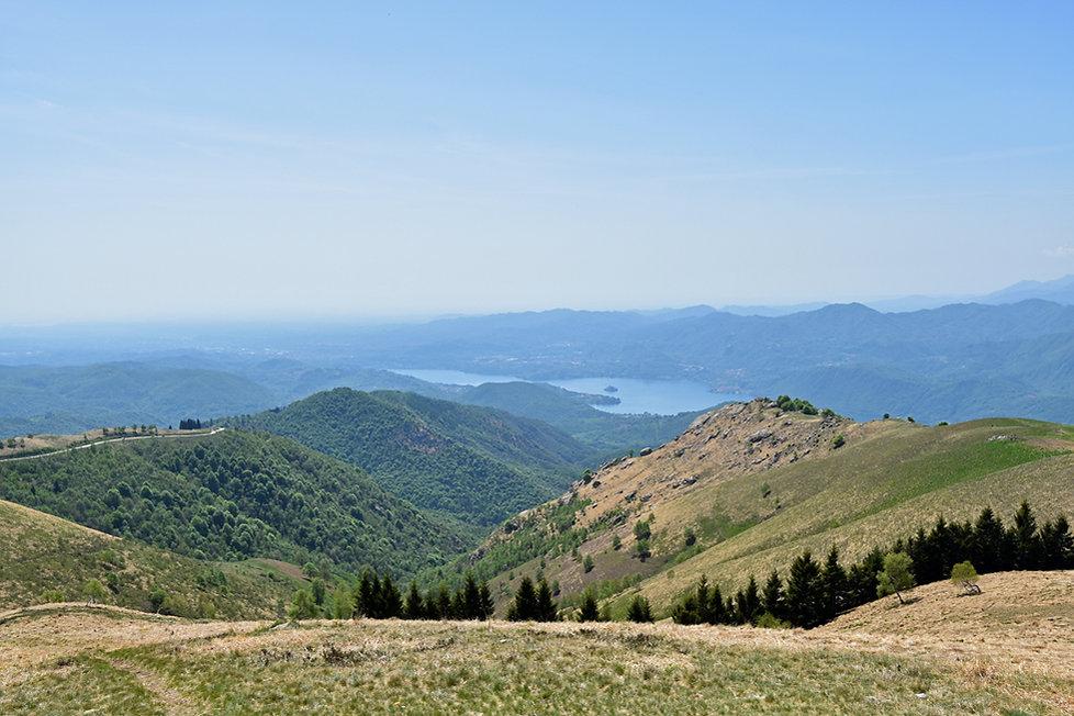 Italie sommet Mottarone lac Orta