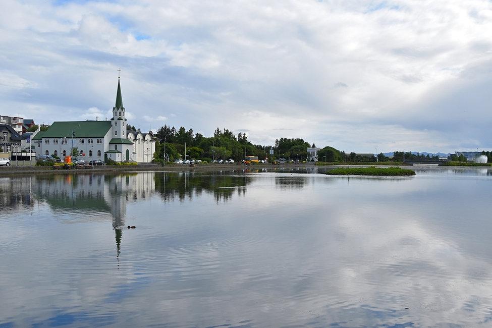 Reykjavik lac Tjörnin