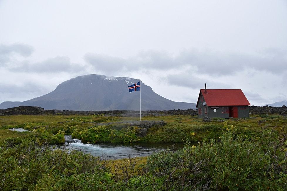 herdubreidarlindir hut heirdubreid islande iceland