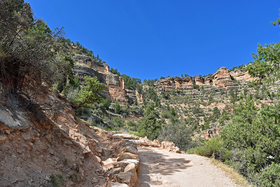 Grand Canyon National Park - Bright Angel Trail