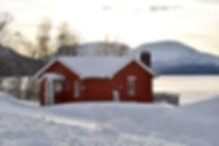 Norvège - Øverbygd - cabane - hiver