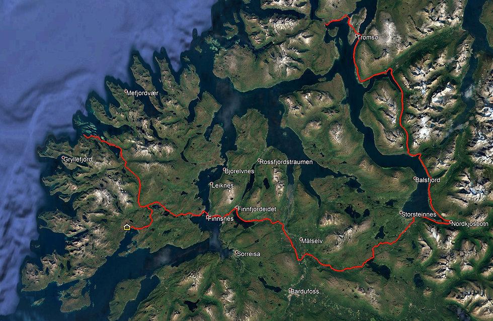 Norvège - Roadtrip - Tromsø - Senja