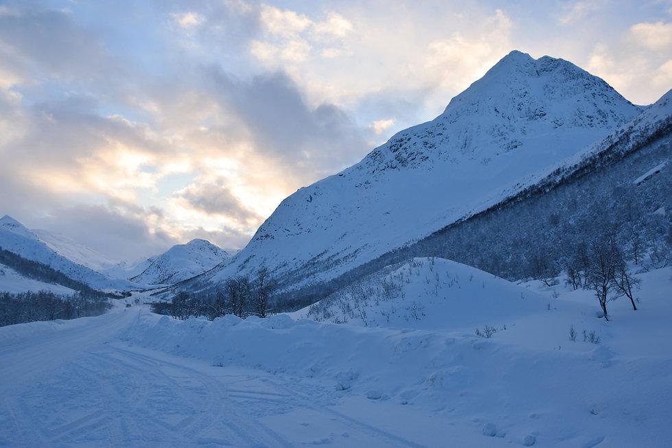 Norvège - Hinnøya - hiver