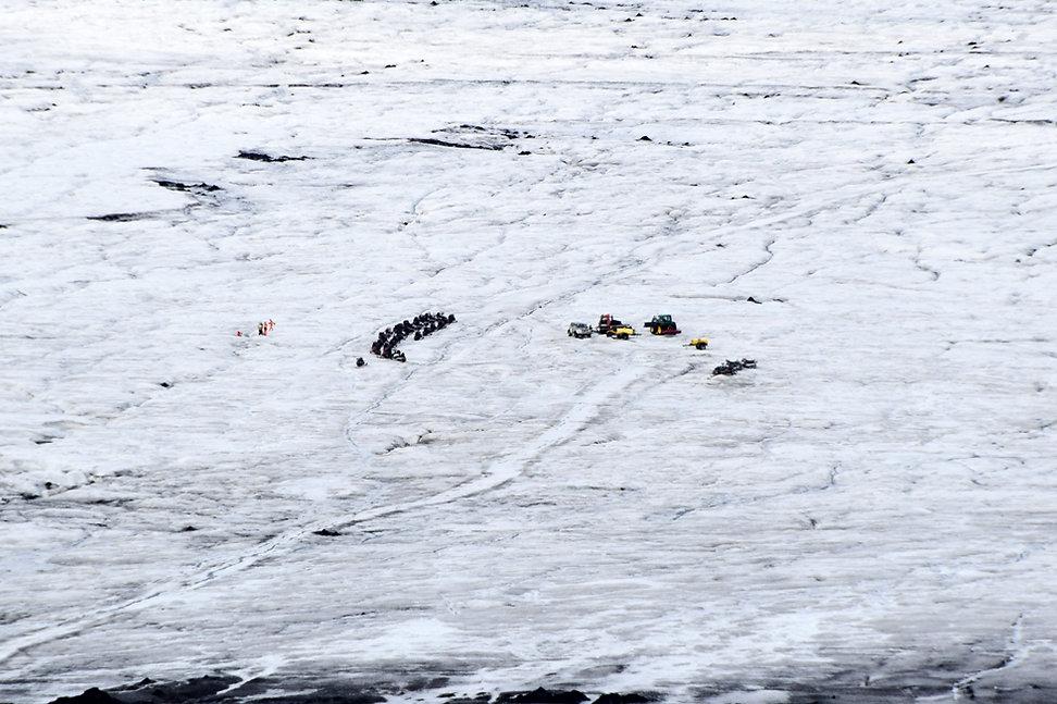 Islande glacier Langjökull motoneige excursion