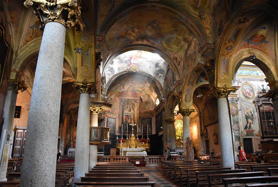 Italie Orta San Giulio église Santa Maria Assunta