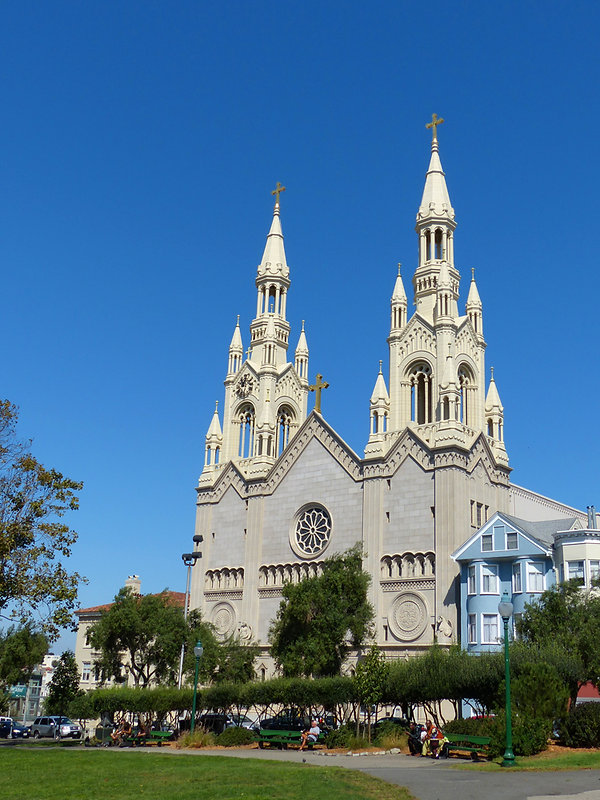 San Francisco - St Peter & Paul church