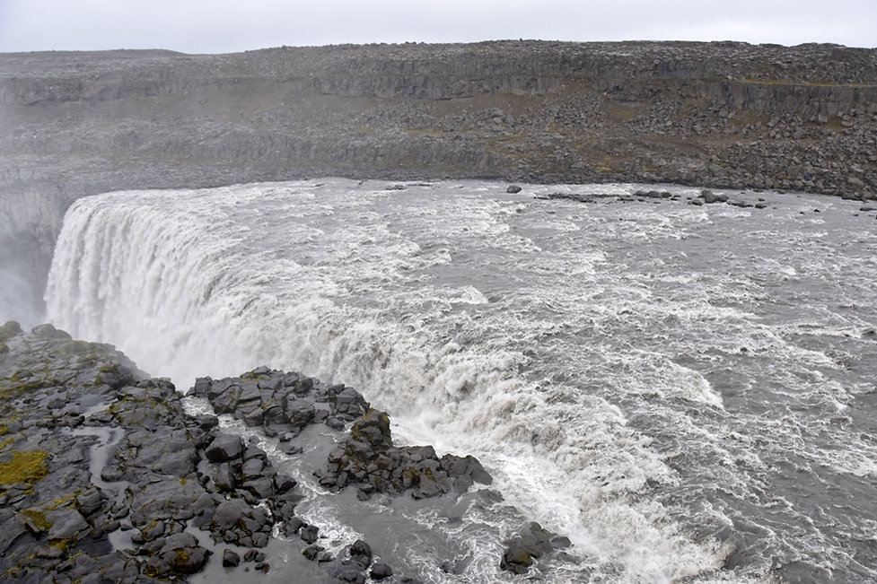 Dettifoss cascade waterfall islande iceland