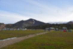 caming landmannalaugar