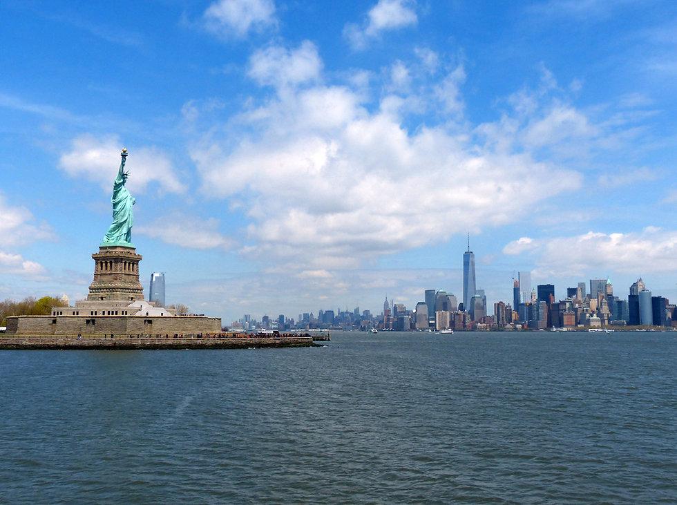 New-York - Liberty island - Statue de la liberté