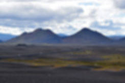 route 1 hautes terres highlands islande iceland paysage volcanique