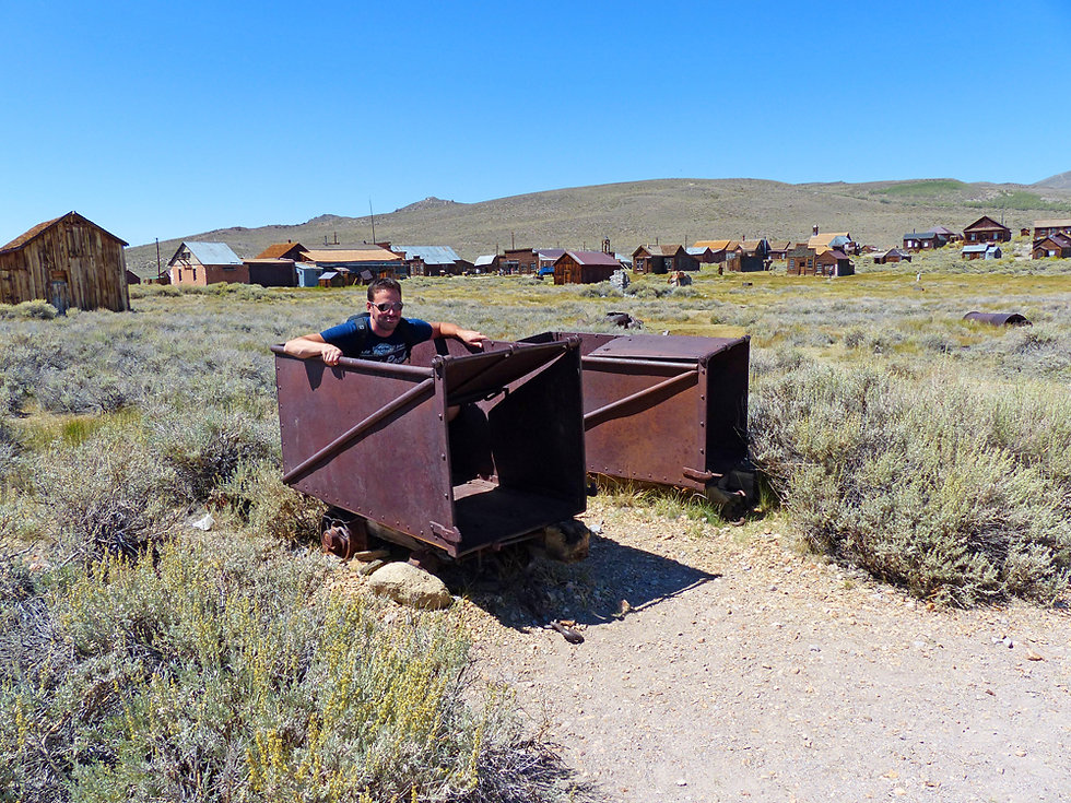 Bodie Ghost Town mine