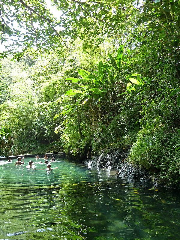 Guadeloupe - bains jaunes