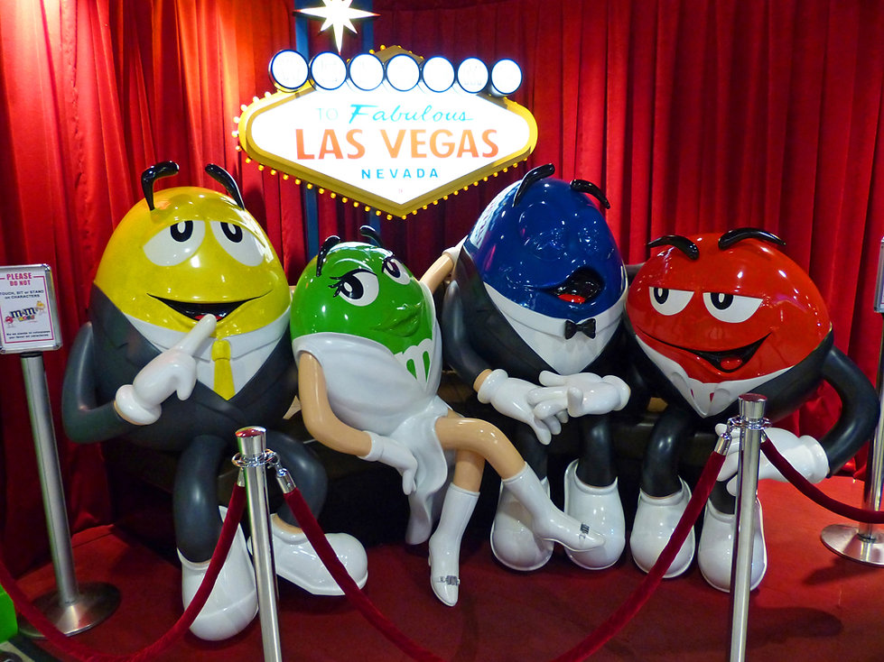 Las Vegas M&M's