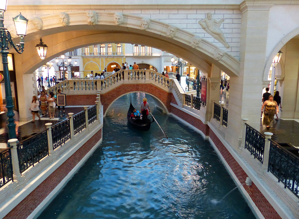 Las Vegas Venetian Grand Canal Shoppes