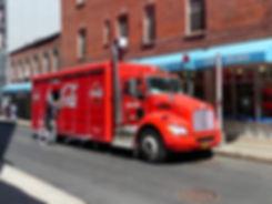 New-York - camion coca cola