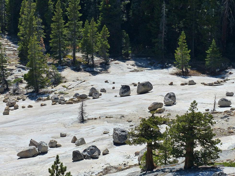 Yosemite National Park boulders