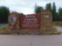 Bryce Canyon National Park entrée