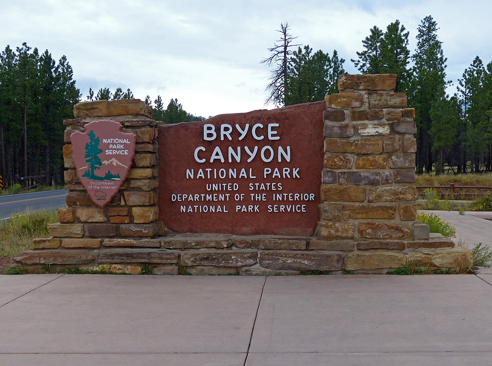 Bryce Canyon National Park entrée