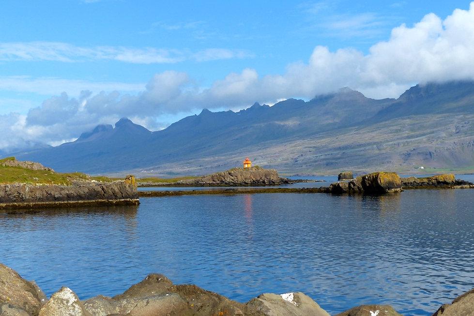 Berufjörður Djúpivogur phare lighthouse