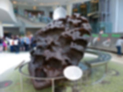New-York - American Museum of Natural History - météorite Williamette