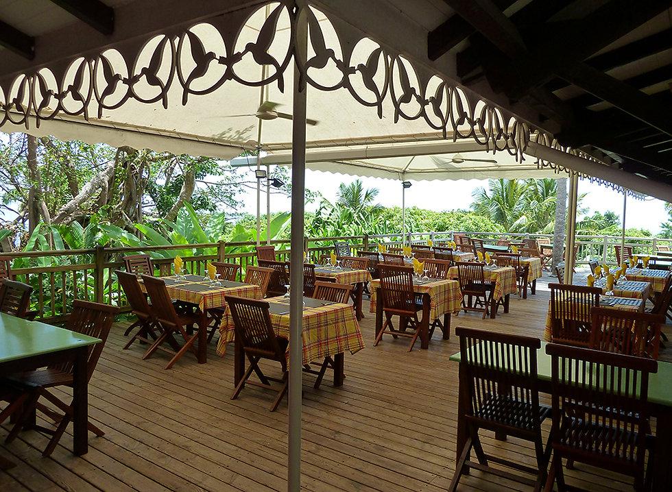 Jardin botanique de Deshaies restaurant