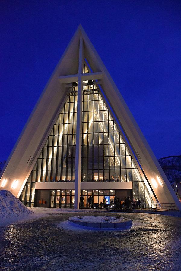 Norvège - Tromsø - Cathédral Arctique - Ishavskatedralen