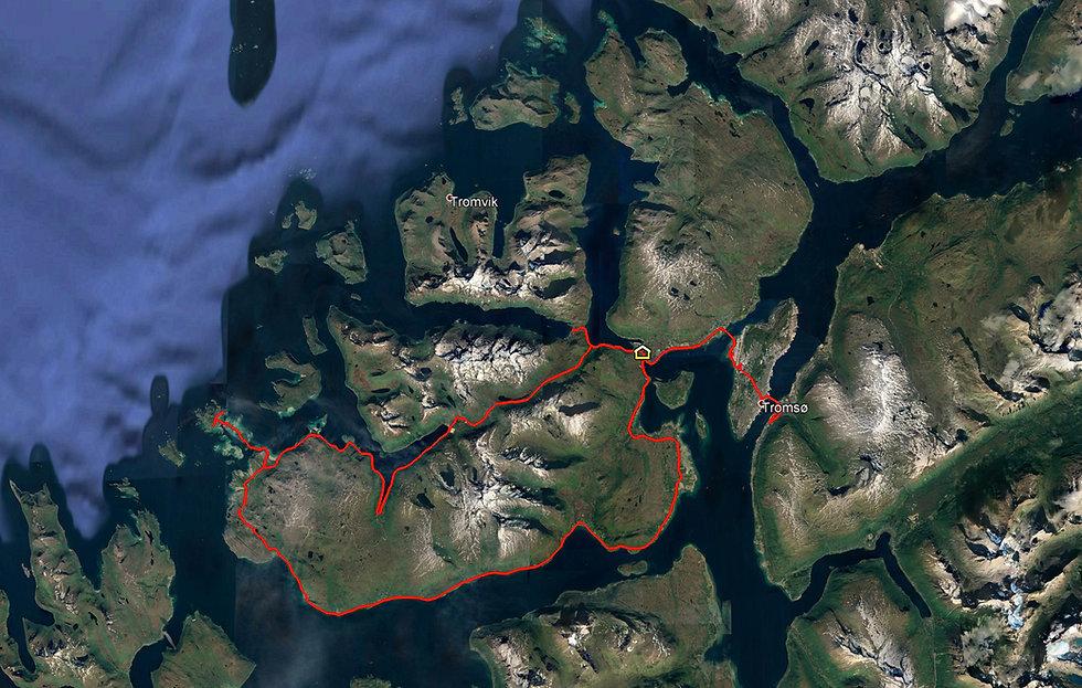 Norvège - Tromsø - Kvaløya - Roadtrip