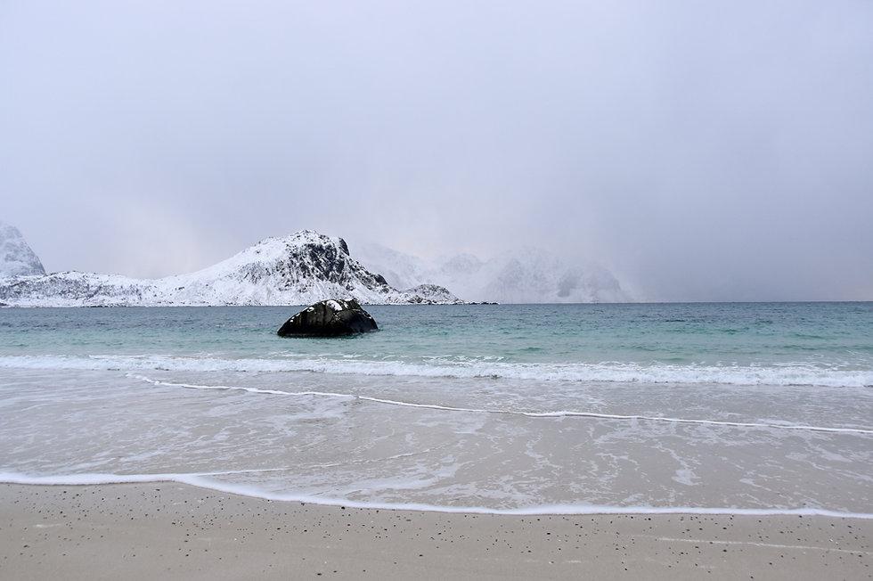 Norvège - Vestvågøya - Hauklandstranda