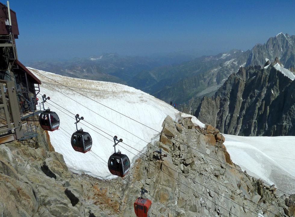 Chamonix - Aiguille du Midi - Panoramique Mont Blanc