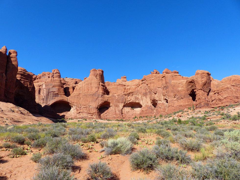 Arches National Park futur arches