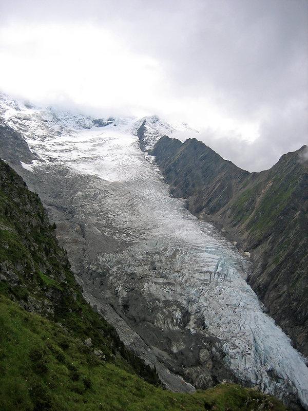 Chamonix - Randonnée La Jonction - Glacier Taconnaz