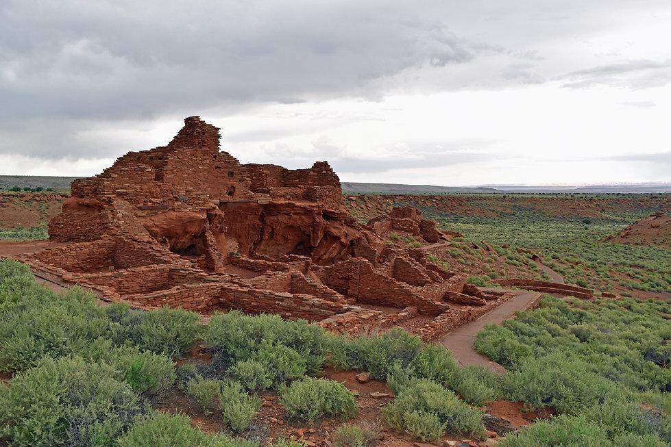 Arizona - Wupatki National Monument - Wupatki Pueblo