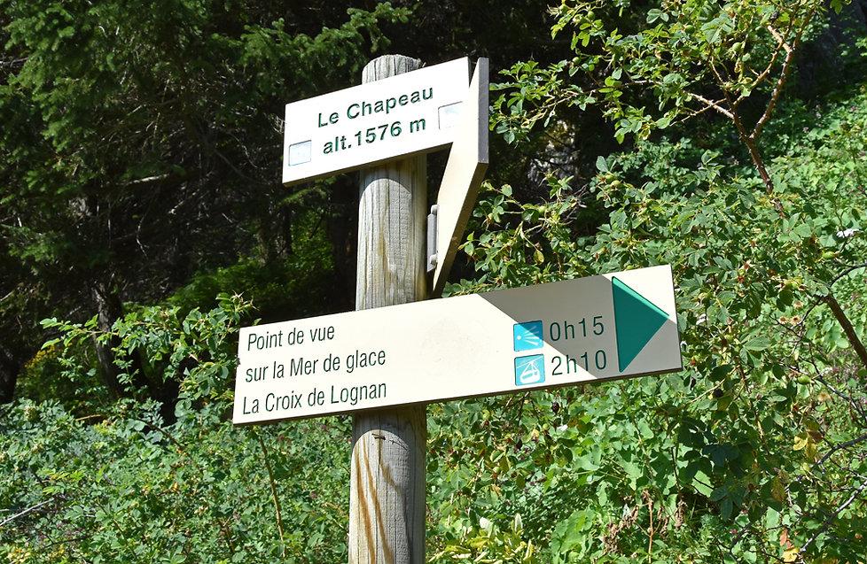 Chamonix - Lavancher - le Chapeau