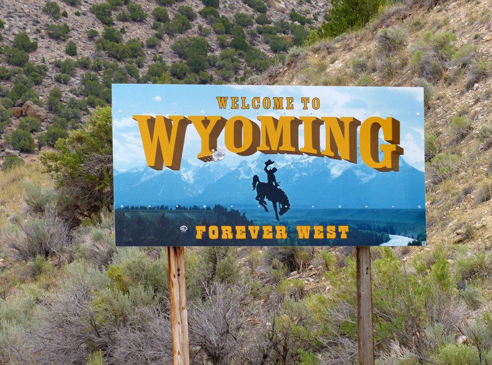 Panneau Wyoming