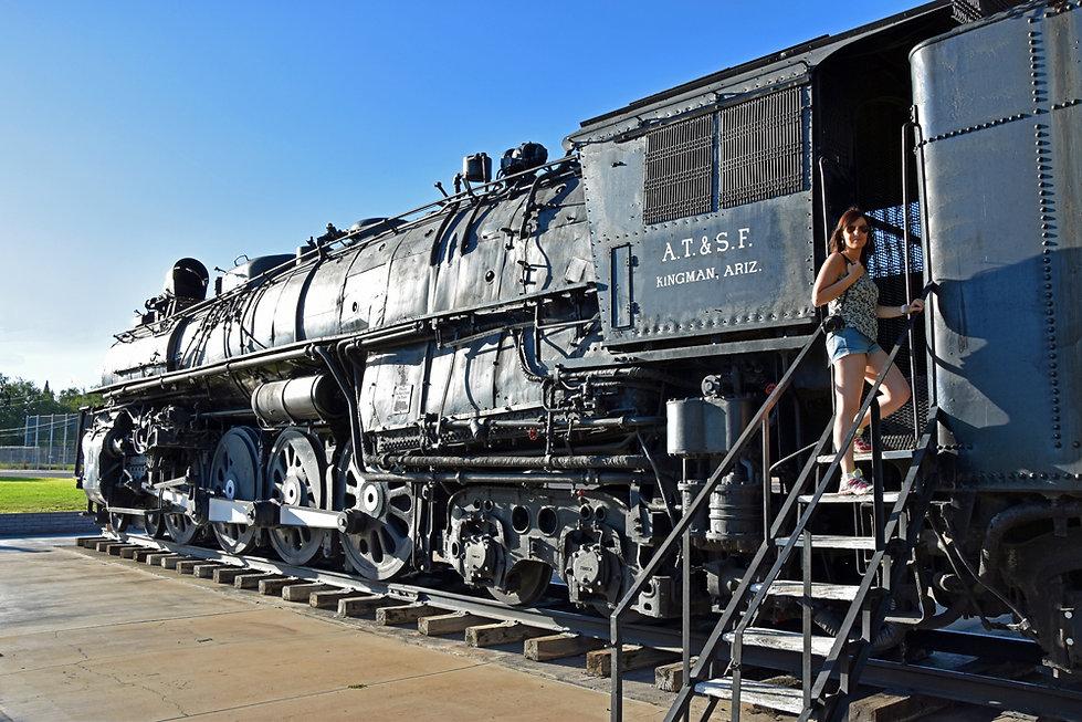 Arizona - Kingman - Locomotive