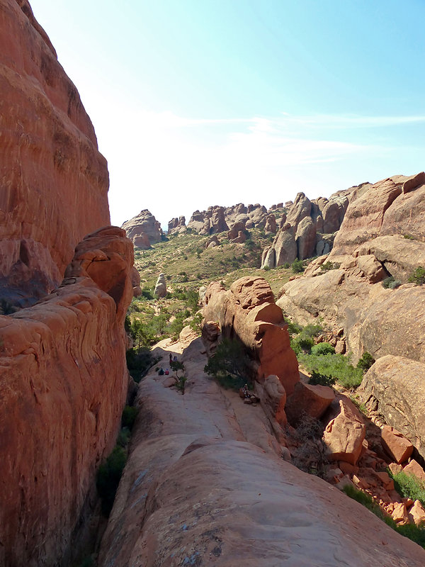 Arches National Park Devil's Garden Wall Arch