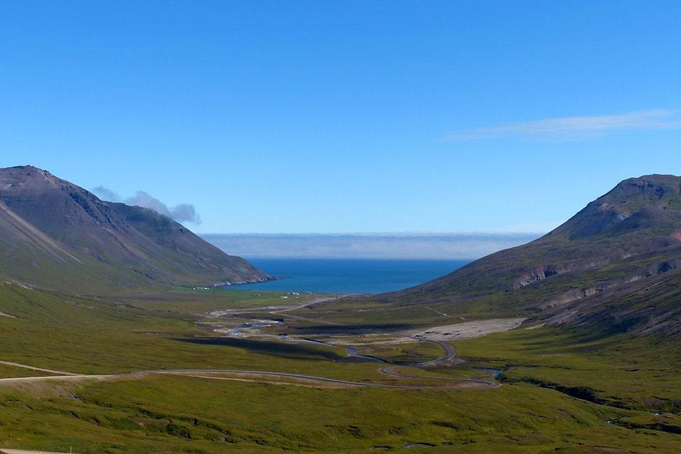 Borgarfjördur route piste 94 islande iceland