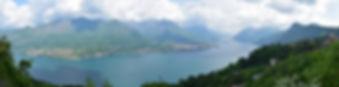 Lac de côme panorama Magreglio