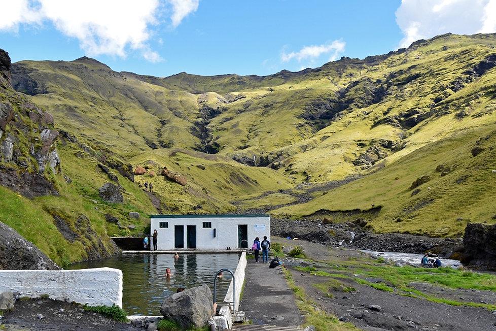 Seljavallalaug islande iceland source chaude piscine