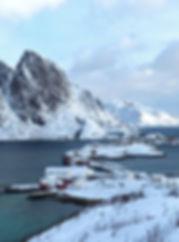 Norvège - Lofoten - Moskenesøya - Reinefjorden