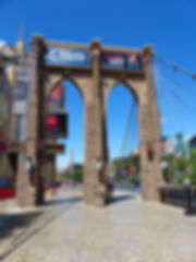 Las Vegas New York Brooklyn Bridge