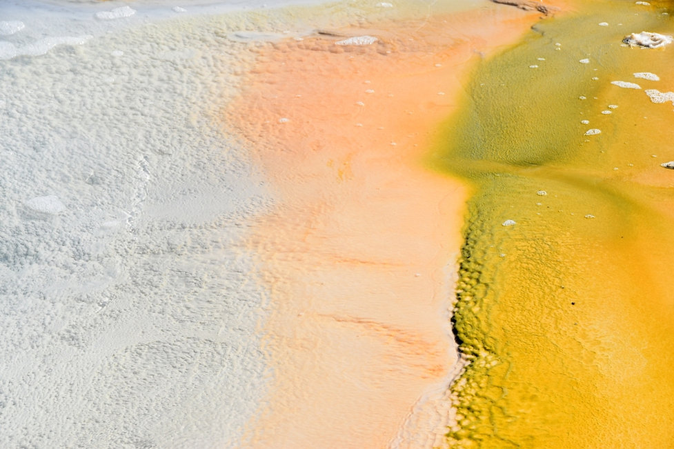 Islande zone géothermique Hveravellir source chaude Raudihver détails