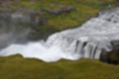 Jökulsá á Fjöllum rivière river Hafragilsfoss cascade waterfall
