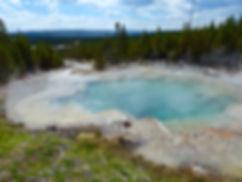 Yellowstone National Parc Norris Geyser Basin Emerald Spring