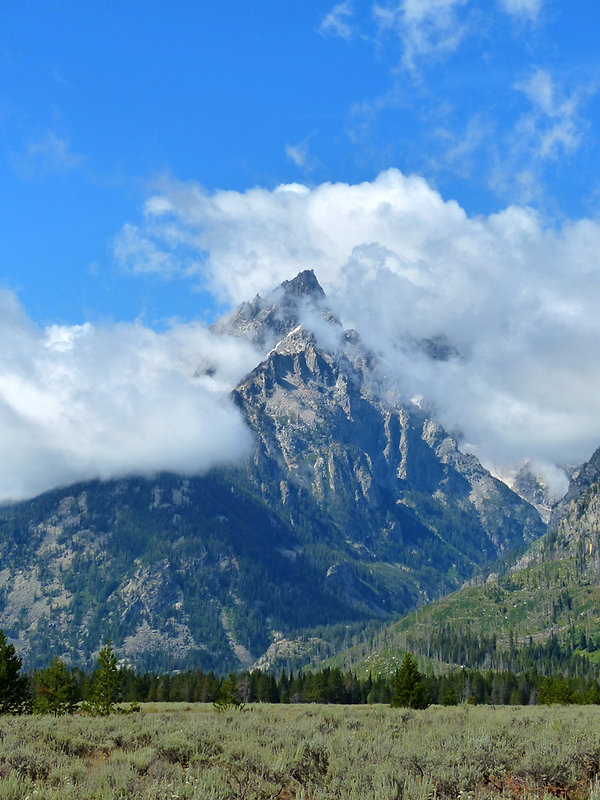 Grand Teton National Park teewinot mountain
