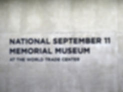New-York - 11 septembre Memorial Museum